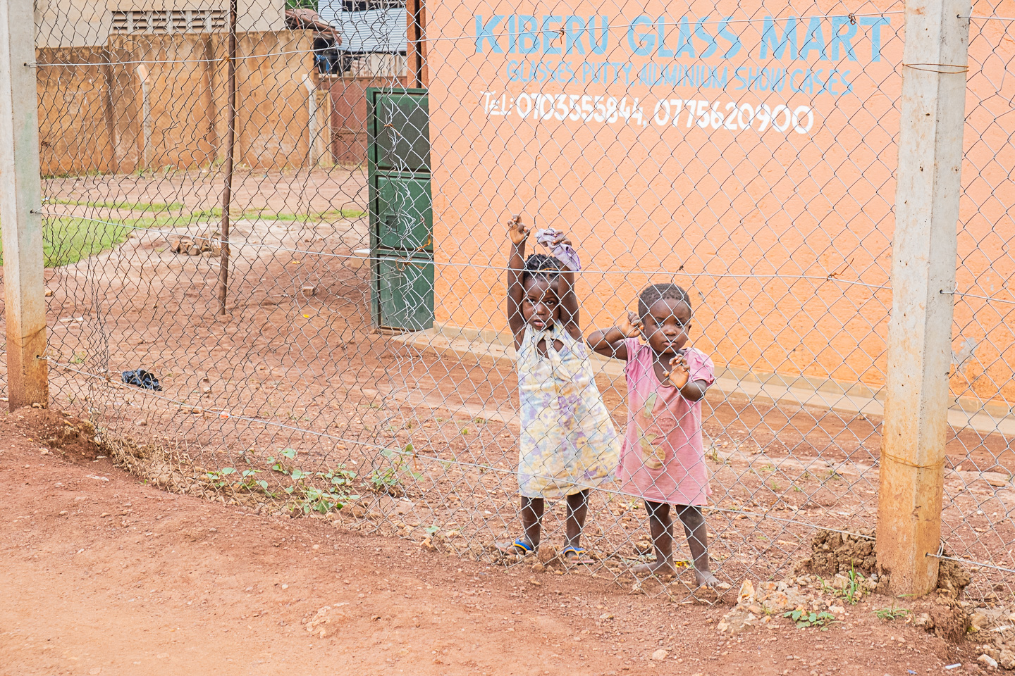 Two young girls in the slums of Kampala, Uganda 2019 @Amina Mohamed Photography