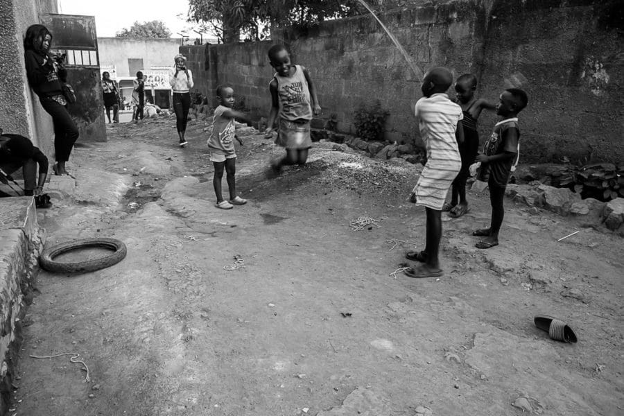 Kids being kids in the slums of Kampala @Amina Mohamed Photography