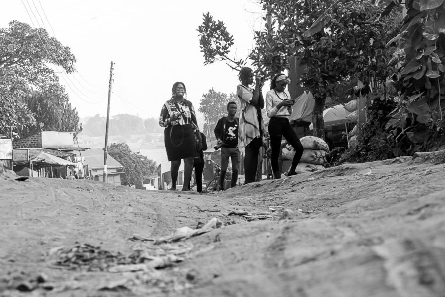 Students out practicing their photography @Amina Mohamed Photography